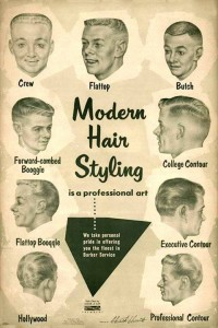 modern hair styling